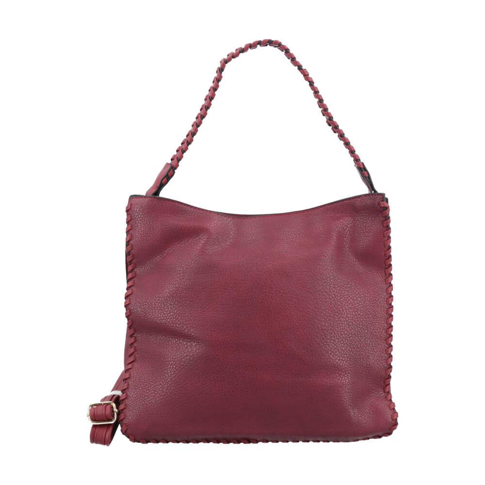 Bauarte - Bolsa Shopper com Detalhe Trançado