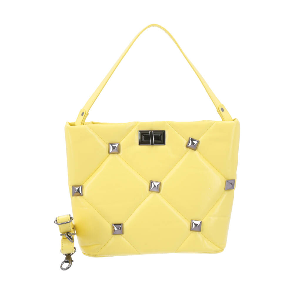 Bauarte - Tote Bag em Matelassê com Spike Aplicado