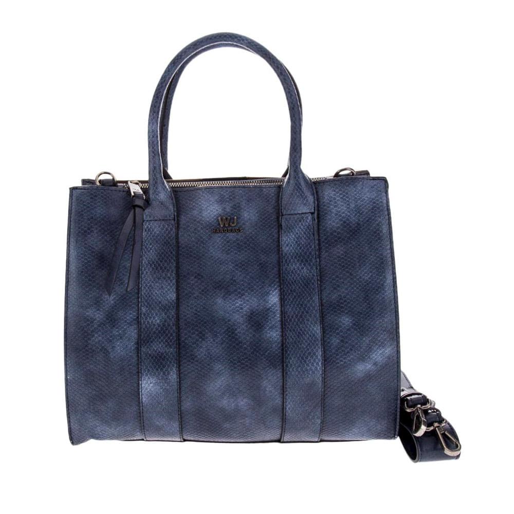 Bolsa WJ Mini Bag Satchel Pequena Cobra Feminina   Zattini